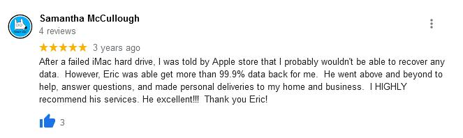 sam mccullough google review